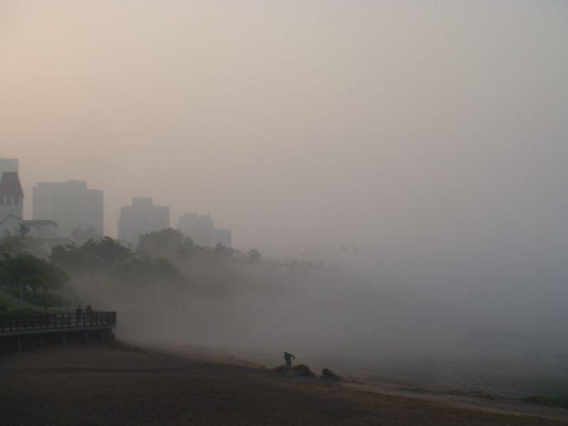 (原创)潮低雾大 泳友焦急众生相 - 阿汪 - 阿汪的博客
