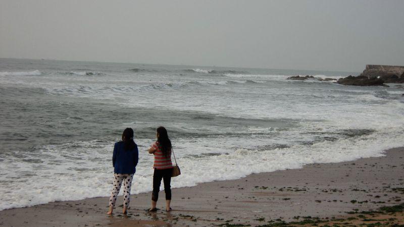 """(原创)受""""凤凰""""台风影响 海边有涌浪 - 阿汪 - 阿汪的博客"""