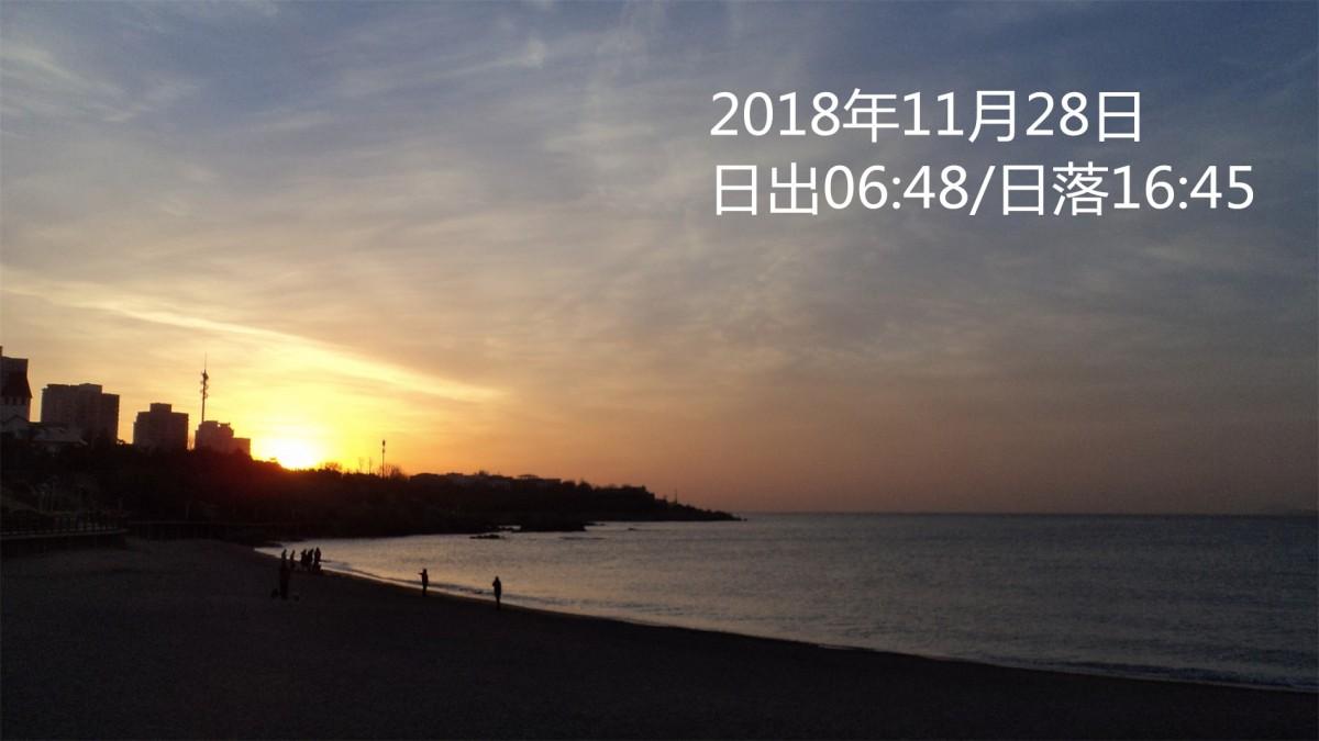 2018年11月28日青岛近海潮汐预报